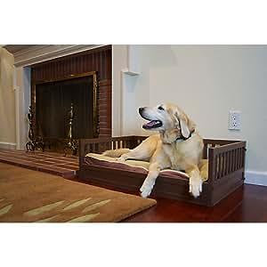 Amazon.com : New Age Pet Russet Mission Style Raised Dog