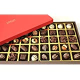 ZOROY Assorted Chocolate Signature Deluxe Red 40 Assorted Chocolates