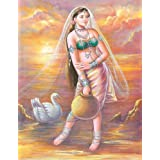 "Dolls Of India ""Ethereal"" Reprint On Paper - Unframed (29.21 X 22.86 Centimeters)"