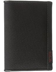 Tumi Men's Alpha Multi Window Card Case, Black, One Size