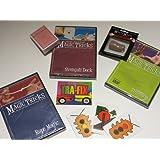 Amazing Easy To Learn Magic Tricks: Rope Magic Dvd, Pro Brand Bridge Size Svengali Deck With Dvd, Magic Thumbtip...