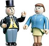 Sir Topham & Lady Hatt Figurines - Thomas Tank Engine Wooden Railway