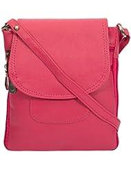 Women's Latest Fancy Shiny PU Leather Sling Bag -Black