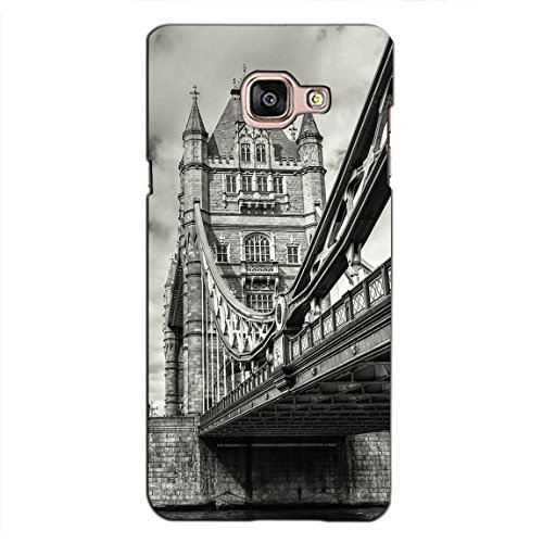 PrintVisa Designer Back Case Cover For Samsung Galaxy On Max (Vintage View Of London Bridge)