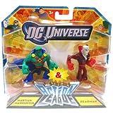 DC Universe Action League Mini Figure 2Pack Martian Manhunter Deadman