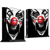Mightyskins Protective Vinyl Skin Decal Cover For Sony Play Station 4 Ps4 Console Wrap Sticker Skins Evil Clown