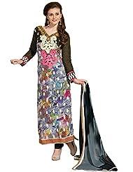 Vibes Designer Pure Georgette Unstiched Dress Materials V199-8