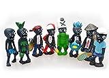 Idesire 16 X Plants Vs Zombies Toys Series Game Role Figure Display Toy PVC Gargantuar Craze Dave Dr. Zomboss