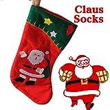 Alcoa Prime Christmas Decor Party Decorations Santa Claus Christmas Stocking Candy Socks Christmas Gifts Bag
