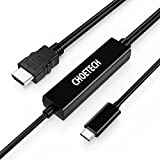 USB C To HDMI Adapter Cable (16.4ft/5m), CHOETECH USB 3.1 Type C Male To HDMI Male Adapter Cable (4K At 30Hz)...