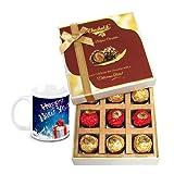 Sweet Surprise Gift Hamper With New Year Mug - Chocholik Belgium Chocolates
