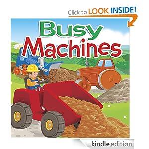 Busy Machines (Big Beak Books First Learners)