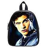 Daniel Sharman Teen Wolf Custom Kid's Black Backpack School Bag (Small)