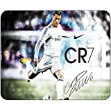 CR7 Ronaldo Mousepad Specifically Designed With Heavy Weave Cloth For Pixel Precise Tracking For All Types Of...