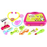 Fun Doctor Case Pretend Play Toy Medical Doctor Kit Play Set, Perfect For Role Playing