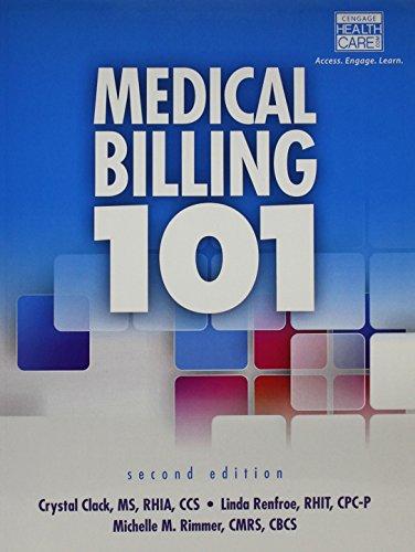 Medical Billing 101 (Book Only)