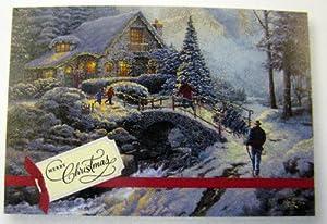 Amazon.com : Hallmark Christmas Boxed Cards PX1732 Thomas
