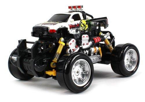 Graffiti Dodge Ram Remote Control Rc Drift Truck 1:18 Scale 4 Wheel Drive Ready To Run Rtr, Working Spring Suspension...