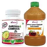 St.Botanica Apple Cider Vinegar With Honey + Garcinia Cambogia Slim 60 Veg Caps