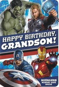"Amazon.com: Greeting Card Birthday Avengers Movie ""Happy ..."