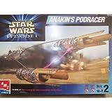 Star Wars Episode 1 ANAKINS PODRACER 1/32 Scale Model Kit (1999 AMT/ERTL)