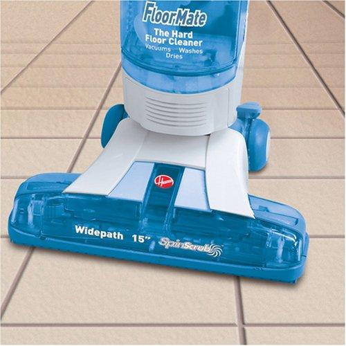 Hoover floor scrubber for ceramic tile