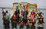 Lord Of the Rings (The Fellowship of the Ring) - 2001 Complete set - Kinder Surprise Figures from Germany- Ferrero