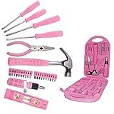 Werkzeugkoffer für Frauen pink 30 tlg.