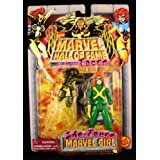 MARVEL GIRL Marvel Comics Hall Of Fame SHE-FORCE Series 1997 Action Figure And C
