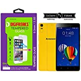 Digifreaks HD Finish Crystal Clear Tempered Glass For Lenovo K3 Note Music Edition