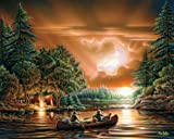 White Mountain Puzzles Evening Rendezvous - 1000 Piece Jigsaw Puzzle