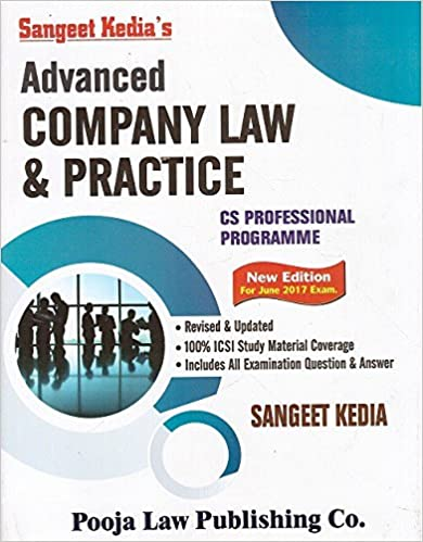 Advanced Company Law & Practice for CS Professional June 2017 Exam