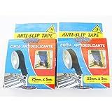 Anti-slip -Non-skid Tape Adhesive PVC Tape Black 25mmW5mL