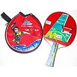 1block Ma Lin 1* Ping Pong Table Tennis Racket Olympic Champion Signature Racket
