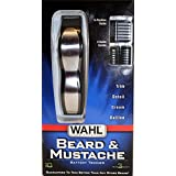 Mens Beard And Mustache Trimmer - Features 5 Position Guide And 3 Combs