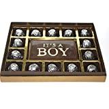 "ZOROY Milk Chocolate Personalised ""It's A Boy"" Box"