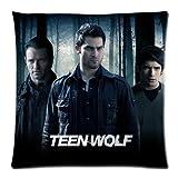Teen Wolf Main Figure Wolf Custom Zippered Rectangle Pillow Case Pillowcases Size:18