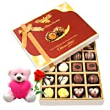 Expressed Through Chocolates With Teddy And Rose - Chocholik Belgium Chocolates