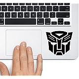 CVANU Autobot Logo Transformers Lapton Skin Stickers Black