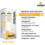 Unived Rrunn During Isotonic Electrolyte Sports Drink Mix - 6 Servings (Orange Flavour)