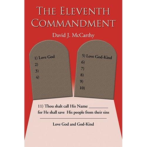 The Eleventh Commandment David McCarthy