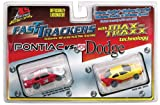 Fast Tracker Grand Prix/Dodge Intrepid Slot Car Twin Pack (HO Scale)