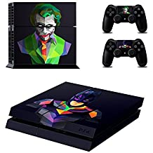 Elton Batman V/S Joker Theme 3M Skin Sticker Cover For PS4 Console And Controllers