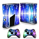 Mightyskins Protective Vinyl Skin Decal Cover For Microsoft Xbox 360 S Slim + 2 Controller Skins Wrap Sticker... - B00CXPHI9Q