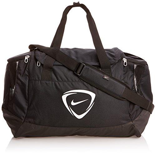 Nike Club Team Duffel - Bolsa de deporte para hombre, talla 53 x 37 x 27 cm, color negro