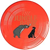 WG Brand Red, One Size : WG Unisex Bear Baloo And The Black Panther Bagheera The Jungle Bear Outdoor Game Frisbee...
