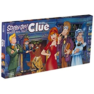 Click to buy Scooby Doo CLUE board game from Amazon!