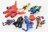 Big Hero 6 PVC (8pcs/set) Figures Fred Tomago Honey Lemon Wasabi Friends Action Figure Doll Toys