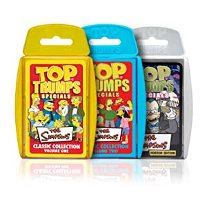 Click to buy Top Trumps Simpsons from Amazon!