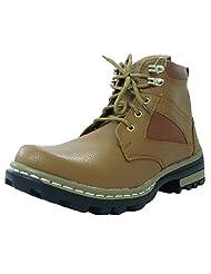 Troy Men's TC173 Faux Leather Boots